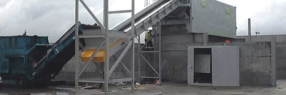precast concrete products for waste management projects
